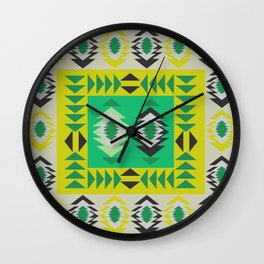Fresh ethnic decor Wall Clock