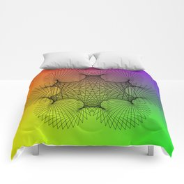 Spirograph Comforters