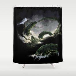 The Midgard Serpent Shower Curtain