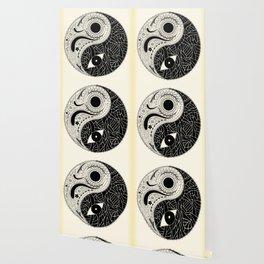 Yin & Yang - [collaborative art with Magdalla del Fresto] Wallpaper