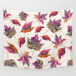 Maple Pattern Wall Tapestry