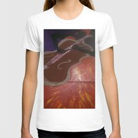 cello T-shirts featuring Cello Played in (d)ea Minor  by Dea Paige