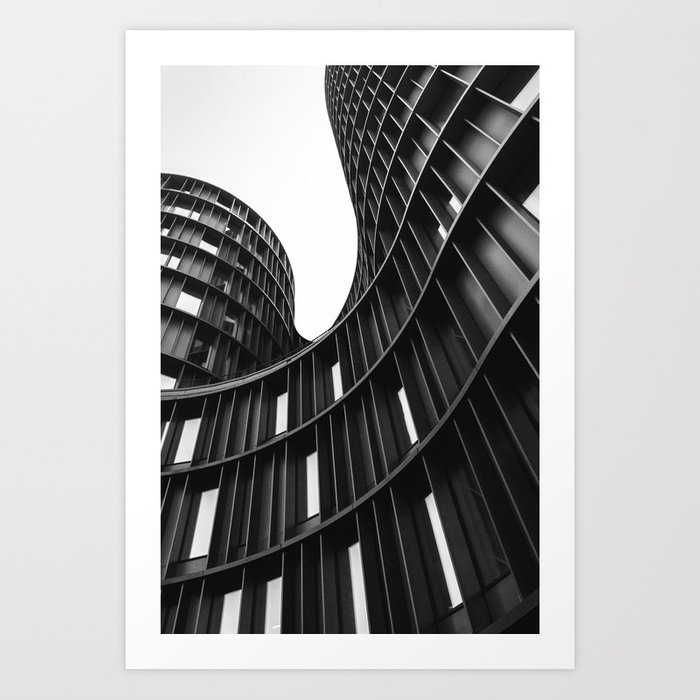 AXEL TOWERS / Copenhagen, Denmark Art Print