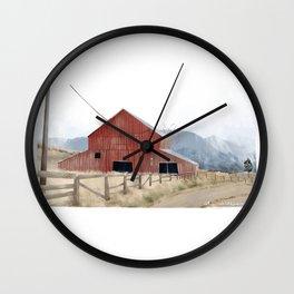 The Barn Wall Clock