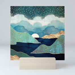 Ocean Clouds Mini Art Print