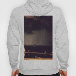 Thunderstorm On Narragansett Bay 1868 By Martin Johnson Heade   Reproduction Hoody