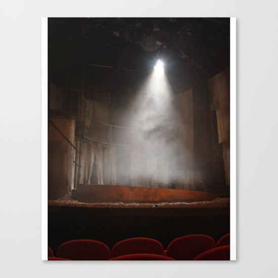 A Night at the Theatre Canvas Print