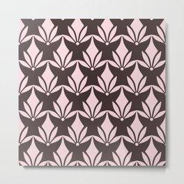 Pink Moka Metal Print