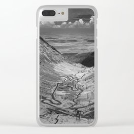 Transfagarasan #5 Clear iPhone Case