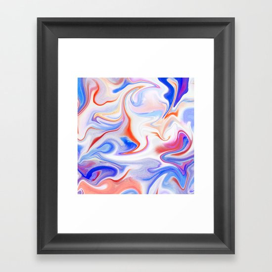 Liquid 1 Framed Art Print