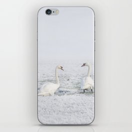 winter #society6 #decor #buyart iPhone Skin