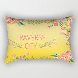 yellow tc flower Rectangular Pillow