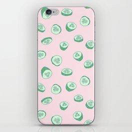 Cucumber are very juicy iPhone Skin