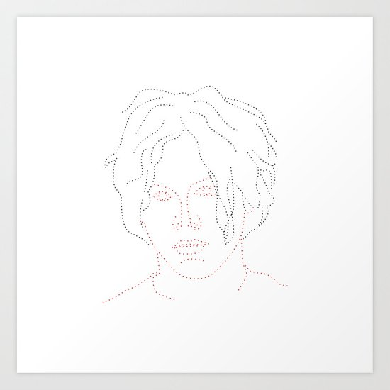 Dot and Roll - Jack Art Print