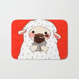 Chocolate Lamb Bath Mat