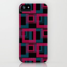 Geometric pattern . Leila . iPhone Case