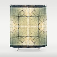 carnival Shower Curtains featuring Carnival by Lily Mandaliou