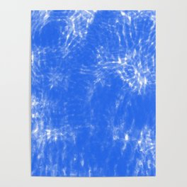 Blue Fade Poster