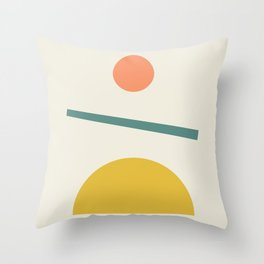 Sunrise / Sunset Throw Pillow