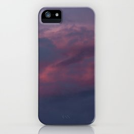 Lenticular cloud iPhone Case