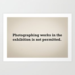picture that. ironic Art Print