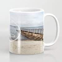 cape cod Mugs featuring Cape Cod Paradise  by Caroline Fahey