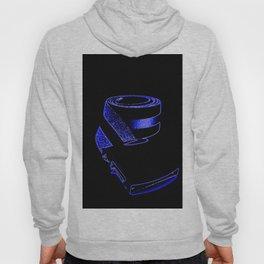 reTro Belt Electric Blue Hoody