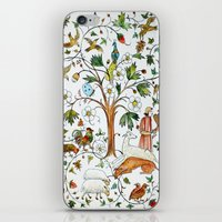 medieval iPhone & iPod Skins featuring MEDIEVAL by oxana zaika