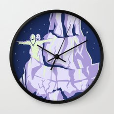 yeti titanic  Wall Clock