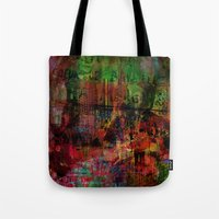 brussels Tote Bags featuring Quartier des Marolles ( Brussels ) by Ganech joe