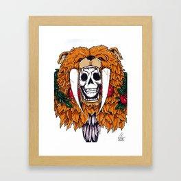 Bear Bones Framed Art Print