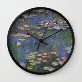 "Claude Monet ""Water lilies"" (12) Wall Clock"