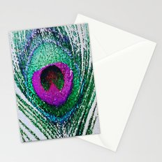 Peacock Bright Stationery Cards