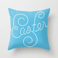 easter Throw Pillows featuring Easter! by Elizabeth Wiethop (31izabethw)