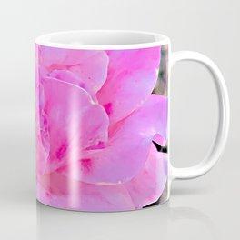 Pretty Pink Pop and Magical Magenta Macro Flower Coffee Mug
