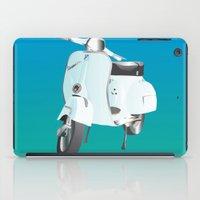 vespa iPad Cases featuring Vespa by Frivolous Designs