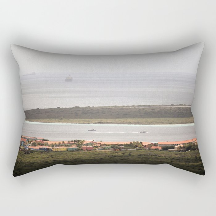 Bonaire and Klein Bonaire Rectangular Pillow by Christine aka stine1 on Society6