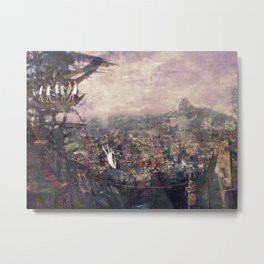 Dream falling Metal Print