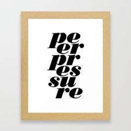peerpressure | light Framed Art Print