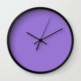 Lilac Bush Wall Clock