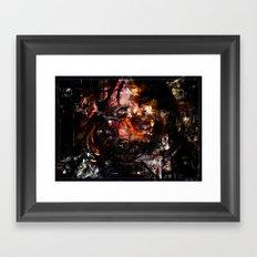 Mask of Chaos Framed Art Print