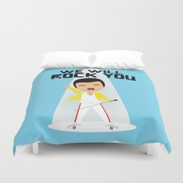 Rock you Duvet Cover