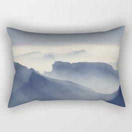 Absarokas Mountains Rectangular Pillow
