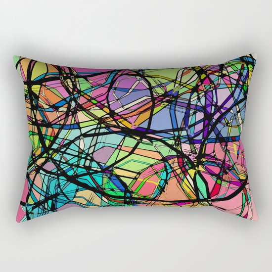 Through a Lens Rectangular Pillow