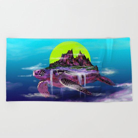Turtle Paradise Beach Towel