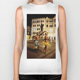 Dancer in Cartagena Biker Tank