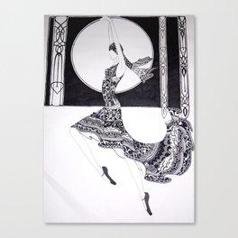 Dancer Series - Jacqueline Canvas Print