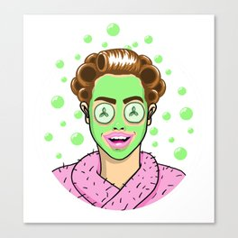 Beauty Monster Canvas Print