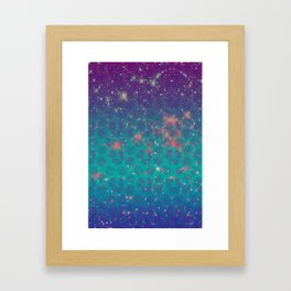 The Stars Framed Art Print
