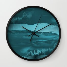 Water cometh to the Forest.... Wall Clock